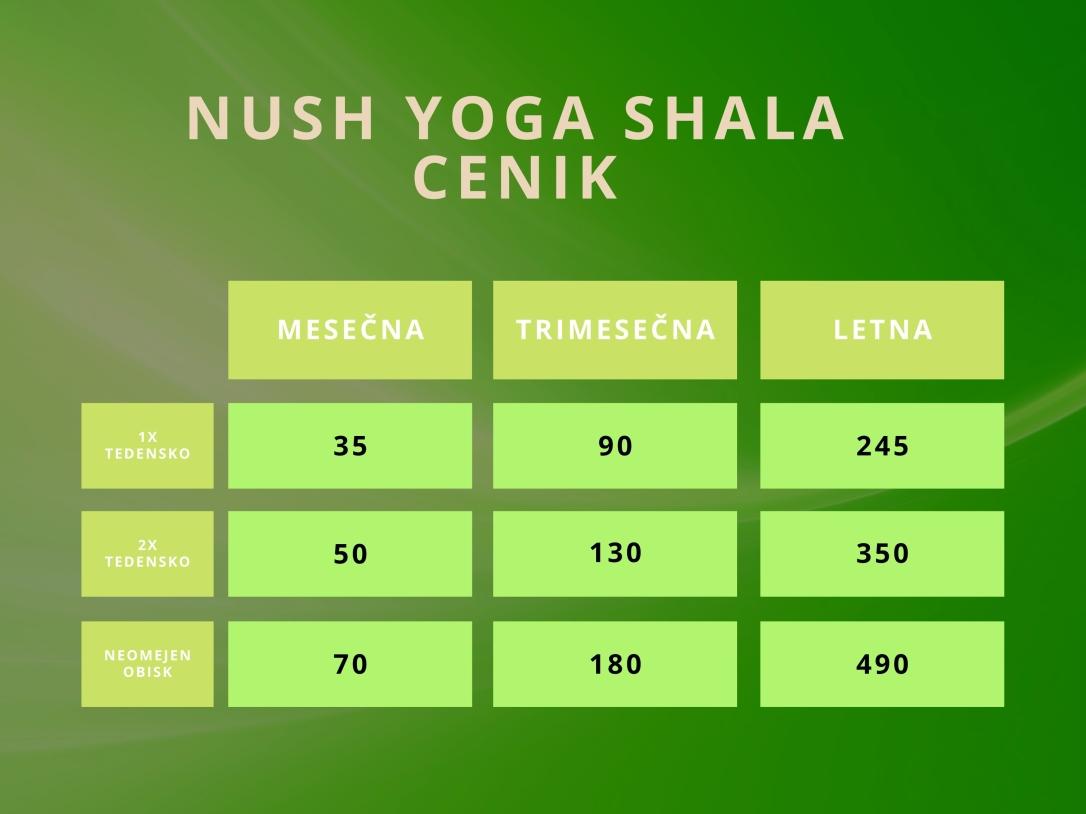Nush Yoga Shala cenik brez teksta
